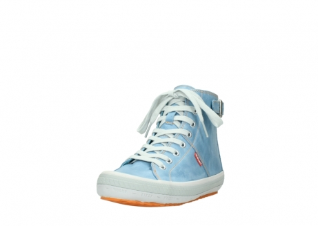 wolky lace up shoes 01225 biker 30840 jeans blue leather_21