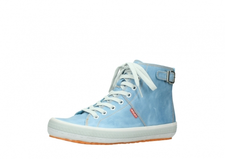 wolky lace up shoes 01225 biker 30840 jeans blue leather_23