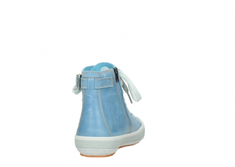 wolky lace up shoes 01225 biker 30840 jeans blue leather_8
