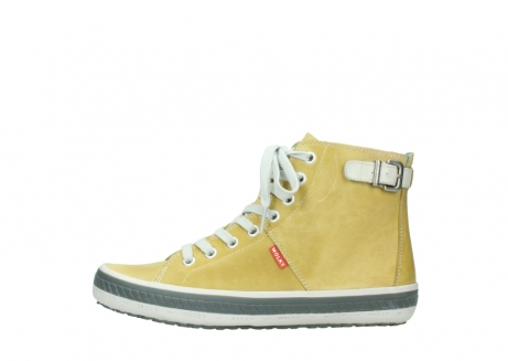wolky lace up shoes 01225 biker 30920 light yellow leather_1