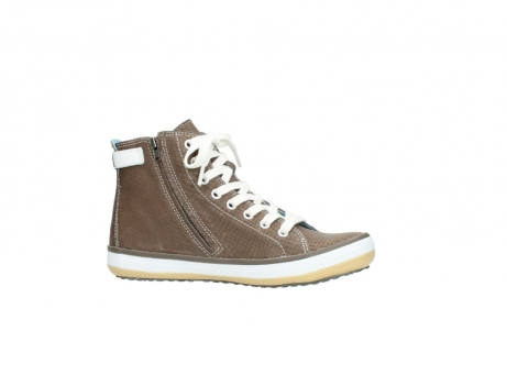 wolky chaussures a lacets 01225 biker 60150 cuir taupe_14