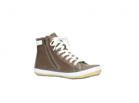 wolky chaussures a lacets 01225 biker 60150 cuir taupe_15