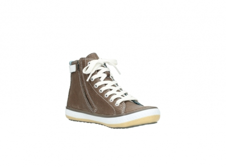 wolky chaussures a lacets 01225 biker 60150 cuir taupe_16