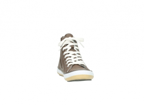 wolky chaussures a lacets 01225 biker 60150 cuir taupe_18