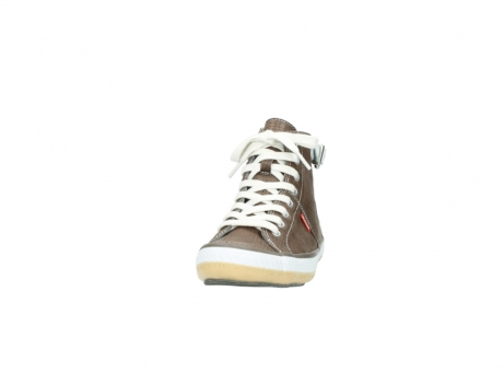 wolky chaussures a lacets 01225 biker 60150 cuir taupe_20