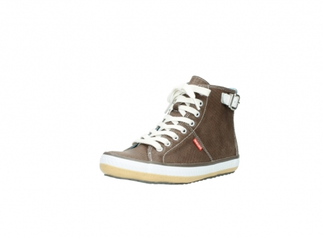 wolky chaussures a lacets 01225 biker 60150 cuir taupe_22