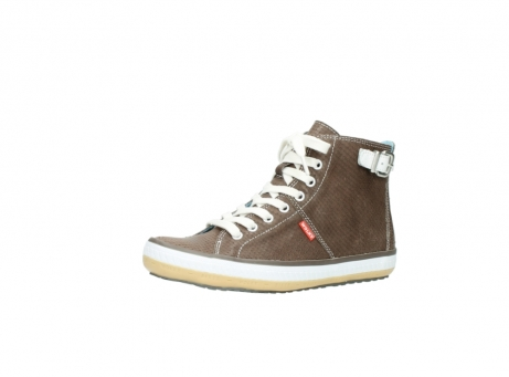 wolky chaussures a lacets 01225 biker 60150 cuir taupe_23