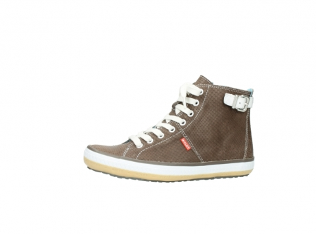 wolky chaussures a lacets 01225 biker 60150 cuir taupe_24