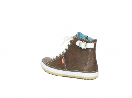 wolky chaussures a lacets 01225 biker 60150 cuir taupe_4