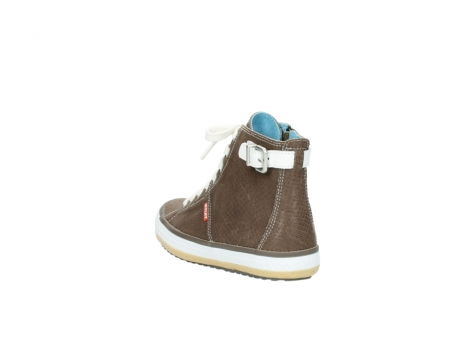 wolky chaussures a lacets 01225 biker 60150 cuir taupe_5