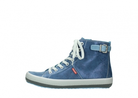 wolky chaussures a lacets 01225 biker 70800 cuir bleu_1