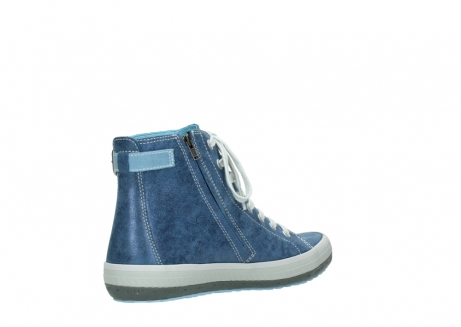 wolky lace up shoes 01225 biker 70800 blue leather_10