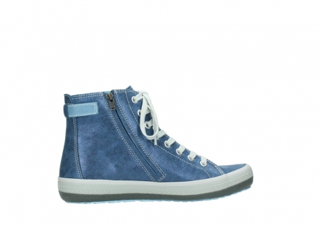 wolky lace up shoes 01225 biker 70800 blue leather_12