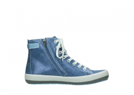wolky lace up shoes 01225 biker 70800 blue leather_13