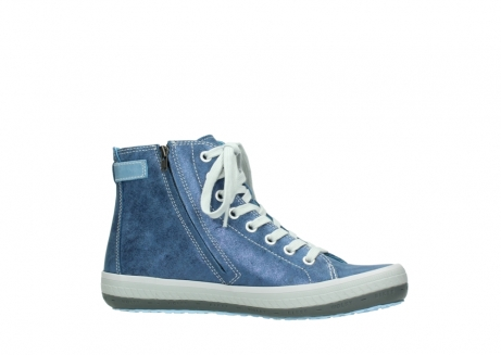wolky lace up shoes 01225 biker 70800 blue leather_14