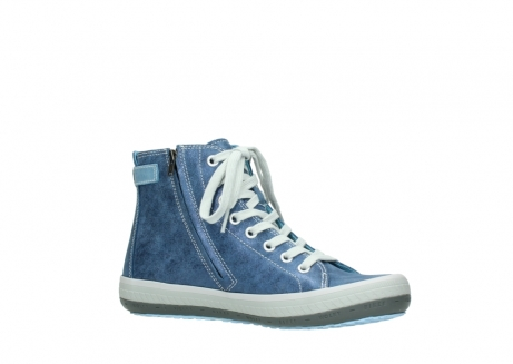 wolky chaussures a lacets 01225 biker 70800 cuir bleu_15