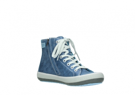 wolky chaussures a lacets 01225 biker 70800 cuir bleu_16