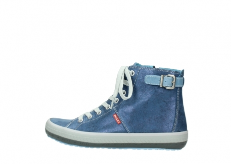 wolky chaussures a lacets 01225 biker 70800 cuir bleu_2