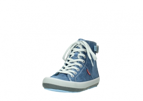 wolky chaussures a lacets 01225 biker 70800 cuir bleu_21
