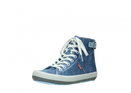 wolky lace up shoes 01225 biker 70800 blue leather_22