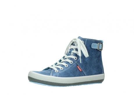 wolky lace up shoes 01225 biker 70800 blue leather_23