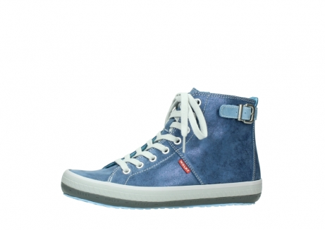 wolky lace up shoes 01225 biker 70800 blue leather_24