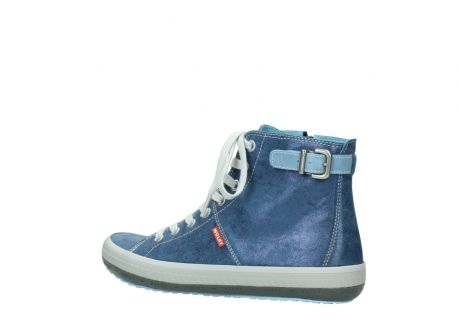 wolky lace up shoes 01225 biker 70800 blue leather_3