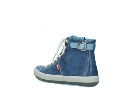 wolky chaussures a lacets 01225 biker 70800 cuir bleu_4