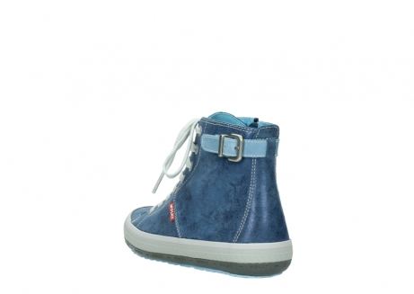 wolky lace up shoes 01225 biker 70800 blue leather_5