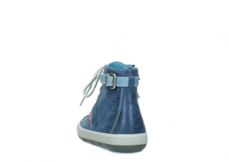 wolky lace up shoes 01225 biker 70800 blue leather_6