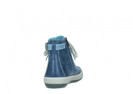 wolky lace up shoes 01225 biker 70800 blue leather_8