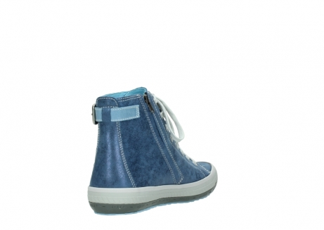 wolky lace up shoes 01225 biker 70800 blue leather_9