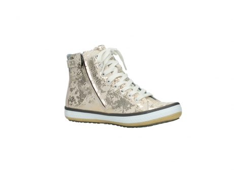 wolky lace up shoes 01225 biker 90140 gold metallic leather_15