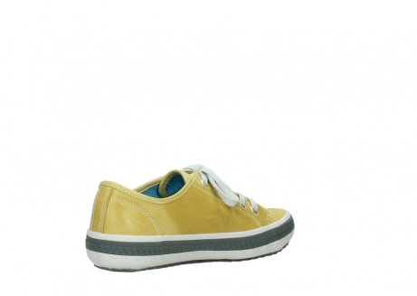 wolky lace up shoes 01227 giro 30920 light yellow leather_10