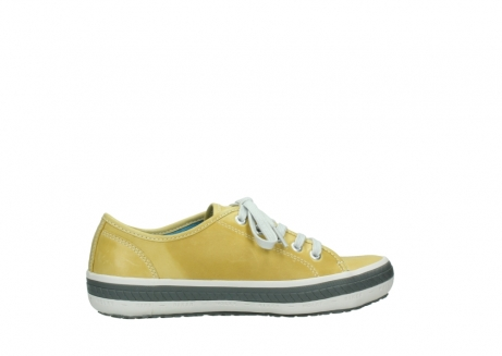 wolky chaussures a lacets 01227 giro 30920 cuir jaune clair_12