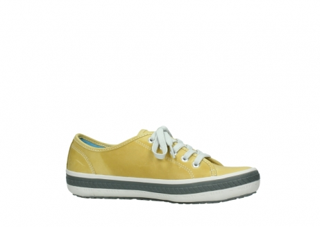 wolky chaussures a lacets 01227 giro 30920 cuir jaune clair_14
