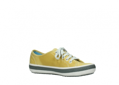 wolky lace up shoes 01227 giro 30920 light yellow leather_15