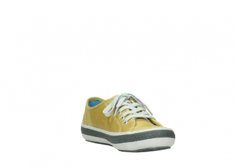 wolky chaussures a lacets 01227 giro 30920 cuir jaune clair_17