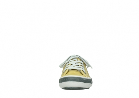 wolky lace up shoes 01227 giro 30920 light yellow leather_19