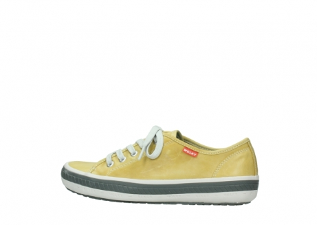 wolky lace up shoes 01227 giro 30920 light yellow leather_2