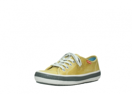 wolky lace up shoes 01227 giro 30920 light yellow leather_22