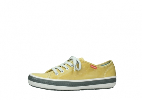 wolky chaussures a lacets 01227 giro 30920 cuir jaune clair_24