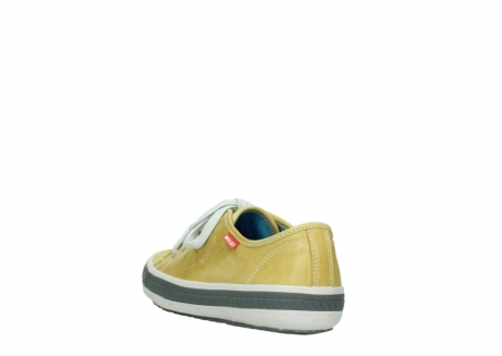 wolky chaussures a lacets 01227 giro 30920 cuir jaune clair_5