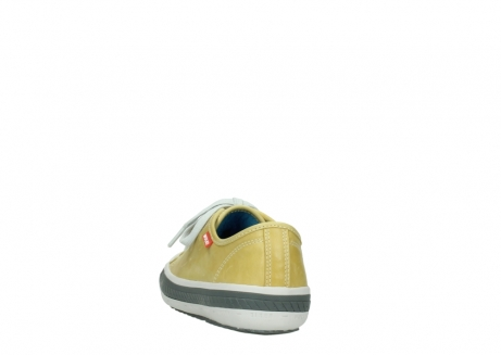 wolky chaussures a lacets 01227 giro 30920 cuir jaune clair_6