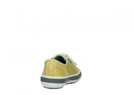 wolky chaussures a lacets 01227 giro 30920 cuir jaune clair_8