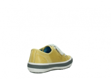 wolky lace up shoes 01227 giro 30920 light yellow leather_9