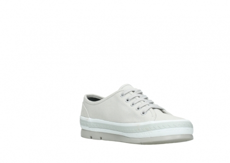 wolky lace up shoes 01230 linda 96206 light grey sand canvas_16