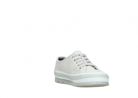 wolky lace up shoes 01230 linda 96206 light grey sand canvas_17
