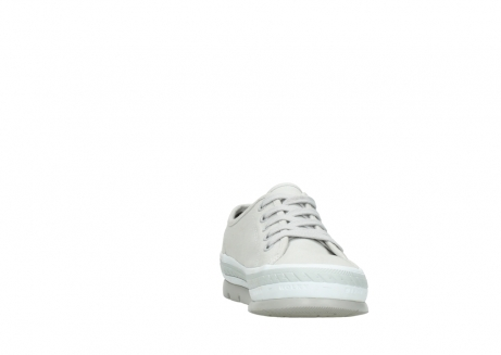 wolky lace up shoes 01230 linda 96206 light grey sand canvas_18