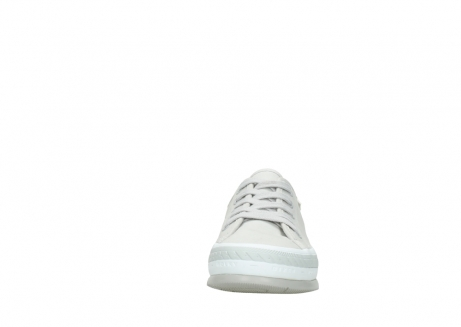 wolky lace up shoes 01230 linda 96206 light grey sand canvas_19